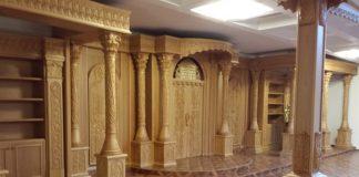 ריהוט מהודר לבית הכנסת